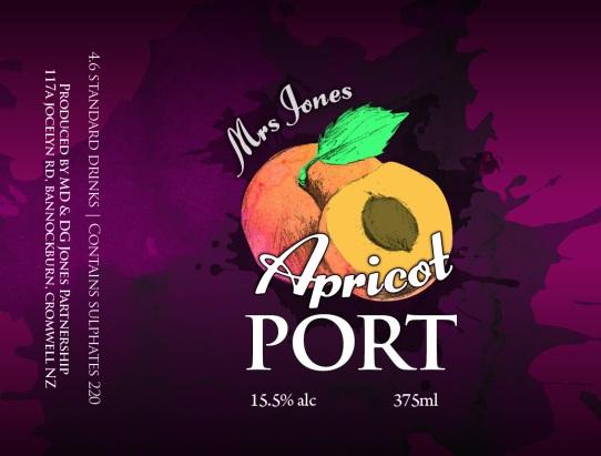 APRICOT Mrs Jones Fruit Ports_67x90mm