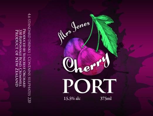 Mrs Jones Cherry Port_67x90mm