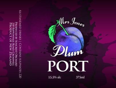 PLUM Mrs Jones Fruit Ports_67x90mm