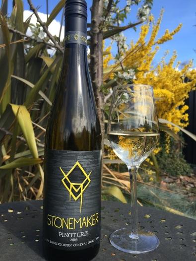 Stonemaker Wine Label Design