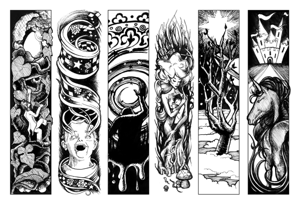 panels from the Seven Sages