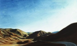 Lindis Pass Painting